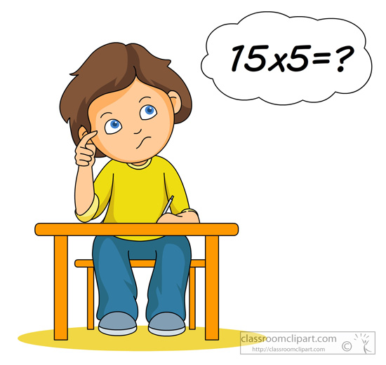 multiplication-clip-art-student thinking about multiplication 17